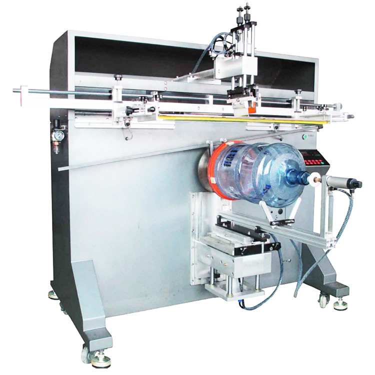 360 degree LGP cylinder bucket  screen printer