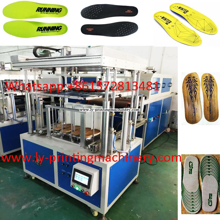 insole easy full automatic screen printer With PLC